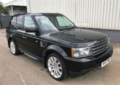 2007 Land Rover Range Rover Sport 2.7 TDV6 5Dr 4x4 - NO VAT ON THE HAMMER - Location: Corby