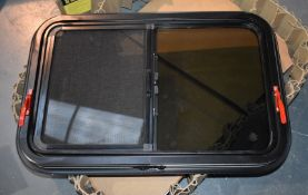 1 x Sliding Windows By Starquest - Suitable For Campervans or Horseboxes - Size 770 x 515mm -