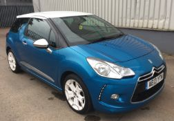 2013 Citroen DS3 1.6 e-HDi 110 Airdream DSport Plus 3dr Hatchback - CL505 - NO VAT ON THE HAMMER