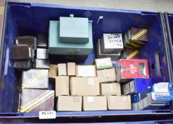 Approximately 61 x Assorted Boxes of Screws and Screw Cups - All Unused Stock From Hardware Retailer