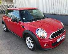 2010 Mini One 1.6 Diesel 3Dr Hatchback - CL505 - NO VAT ON THE HAMMER - Location: Corby,