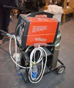 1 x Clarke MIG160EN Turbo No-Gas/Gas MIG Welder With Stand and Accessories - Ref 449 - CL501 -