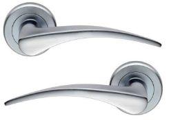 11 x Pairs of Serozzetta Internal Door Handle Levers in Satin Chrome- Brand New Stock - Product