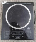 1 x Orchid IH-2000BI Induction Cooker - Pre-owned, Taken From An Asian Fusion Restaurant - Ref: MC74