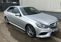 2015 Mercedes E250 AMG Line 2.2 Cdi Auto 4Dr Saloon - NO VAT ON THE HAMMER - Location: Corby