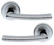 5 x Pairs Serozzetta Dos Internal Door Handle Levers in Satin Chrome- Brand New Stock - Product