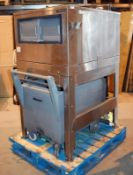 1 x Follett LITS500SG Large Capacity Ice Bin With Transport Trolley - CL533 - Location: Altrincham W