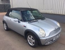 2004 Mini Cooper 1.6 Convertible 2 Dr Convertible - CL505 - NO VAT ON THE HAMMER - Location: Corby