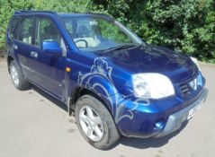 2002 Nissan Xtrail 2.0 Sport 5 Door 4x4 - CL505 - NO VAT ON THE HAMMER - Location: Corby, Northampto