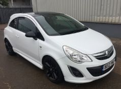 2012 Vauxhall Corsa 1.2 Limited Edition - NO VAT ON THE HAMMER - Location: Corby
