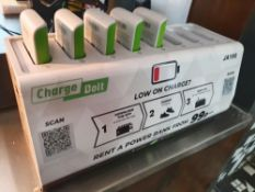 1 x Charge Bolt Scan and Go Mobile Phone Battery Charger With Docking Station and Five Chargers - Re