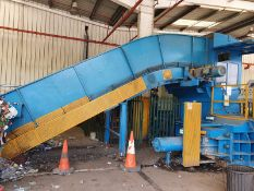 ***Offers Invited*** 2017 Conveyor Fed Industrial Press Baler and Packer - Original Cost £320,000!