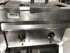 1 x Valentine Twin Basket Fryer - 3 Phase - CL554 - Ref IM212 - Location:Altrincham WA14