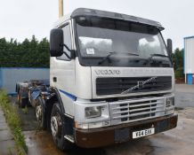 1 x Volvo 340 Plant Lorry With Tipper Chasis and Fitted Winch - NO VAT ON THE HAMMER!