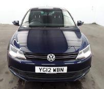 2012 Volkswagen Jetta 1.6 Tdi Se Bluemotion Tech 4 Door Saloon- CL505 - NO VAT ON THE HAMMER - Loca