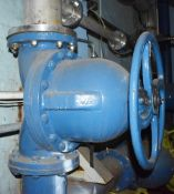 1 x Saunders Diaphragm Valve - Ref EP100 - Pipe Connection Size 30cm - CL451 - Location: Scunthorpe,