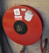 3 x Wall Mounted Fire Hose Reels - Ref EP162/166/168 - CL451 - Location: Scunthorpe,