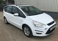 2011 Ford Smax 2.0 TDCI 140 Zetec 5 Door MPV - CL505 - NO VAT ON THE HAMMER - Location: Corby, North