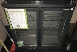 1 x Gamko Two Door Bottle Cooler (Model 250G) - CL554 - RefIM200 - Location:Altrincham WA14