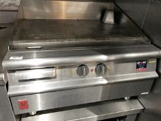 1 x Falcon Countertop Griddle With Solid Top - H44 x 80 x 80 cms - CL554 - Ref IM216 - Location: