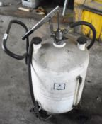 1 x Harrison Oil Dispenser With Pump and Trolley - Ref EP185 - CL451 - Location: Scunthorpe, DN15