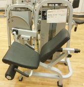 1 x Polaris DE-201 Seated Leg Extension CommercialGym Machine - CL552 - Location: West YorkshireThe