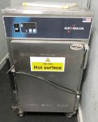 1 x Alto Shaam Halo Heat Food Holding Cabinet - Features Stainless Steel Finish and Castors - RRP £