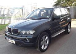 2004 BMW X5 3.0D Sport Auto 5 Door 4x4- CL505 - NO VAT ON THE HAMMER - Location: Corby,