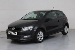 2013 Volkswagen Polo 1.2 Match 5- CL505 - NO VAT ON THE HAMMER - Location: Corby