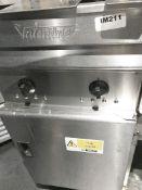 1 x Valentine Twin Basket Fryer 3 Phase - CL554 - Ref IM211 - Location:Altrincham WA14