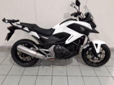Honda NC750X in White - 65 Plate - 14133 Miles - 1 Owner - CLTBC - Location: Altrincham WA14