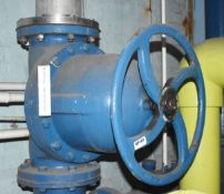 1 x Saunders Diaphragm Valve - Pipe Connection Size 30 cm - Ref EP103 - CL451 - Location: