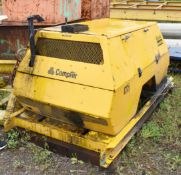 1 x Compair BroomWade CA1 Compressor With Pyroban Diesel Engine - NO VAT ON THE HAMMER!