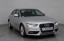2013 Audi A4 2.0 Tdi SE 4 Door Saloon- CL505 - NO VAT ON THE HAMMER - Location: Corby