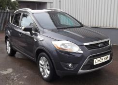 2009 Ford Kuga 2.0 Tdci Titanium 5 Dr 4x4 - CL505 - NO VAT ON THE HAMMER - Location: Corby, Northamp