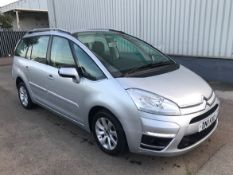 2011 Citroen C4 Grand Picasso 1.6 Hdi VTR+ 5Dr MPV - CL505 - NO VAT ON THE HAMMER - Location: Corby,
