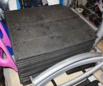 26 x Gym Safety Floor Tiles - Each Tile Measures 100 x 100 cms - CL546 - Location: Hale,