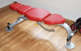 1 x Escape Fitness Adjustable Gym Bench - CL546 - Location: Hale, Cheshire - NO VAT ON THE HAMMER!