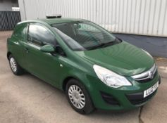 2012 Vauxhall Corsa 1.3 CDTI 3 Dr Panel Van - CL505 - Location: Corby, Northamptonshire