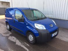 2014 Peugeot Bipper 1.3 Hdi S 4 Dr Panel Van - CL505 - Location: Corby, Northamptonshire<str