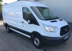 2015 Ford Transit 350 LWB 125 4 Door Panel Van - CL505 - NO VAT ON THE HAMMER - Location: Corby,