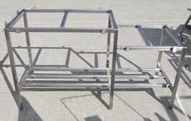 1 x Stainless Steel Commercial Chopping Block Frame