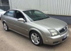 2004 Vauxhall Vectra 2.2 Sri Automatic 4 Dr Saloon - CL505 - NO VAT ON THE HAMMER - Location: Corby,