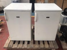 2 x Zanussi Undercounter Fridges - Removed From a Working Environment - Product Code: N/A -
