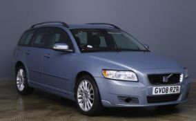 2008 Volvo V50 SE 2.0 D Auto 5 Door Estate - CL505 - NO VAT ON THE HAMMER - Location: Corby, Northam