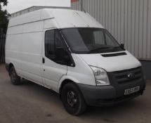 2013 Ford Transit 350 125 LWB MR Panel Van - CL505 - NO VAT ON THE HAMMER - Location: Corby, Northam