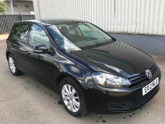 2012 Volkswagen Golf 1.6 Tdi Match 5Dr Hatchback - CL505 - NO VAT ON THE HAMMER - Location: Corby, N