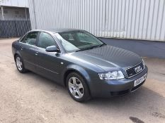 2003 Audi A4 Quattro 1.9 Tdi SE 4 Dr Saloon - CL505 - NO VAT ON THE HAMMER - Location: Corby, Northa