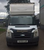 2009 Ford Transit 350 Luton Body c/w Tail Lift - CL505 - NO VAT ON THE HAMMER - Location: Corby, No