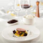 12 x RAK Porcelain Banquet 30cm Ivory Porcelain Deep Plates - Original Price £130.00